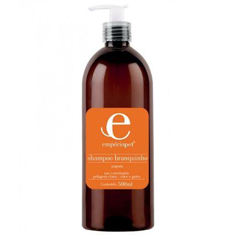 shampoobranquinhocaesegatosemporiopetcom500ml